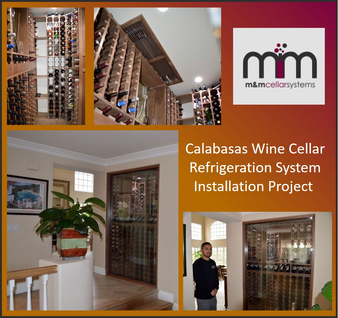 Calabasas Wine Cellar Refrigeration System Installation Project.jpg
